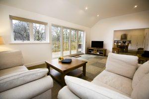 Almond Cottage Living Room Area