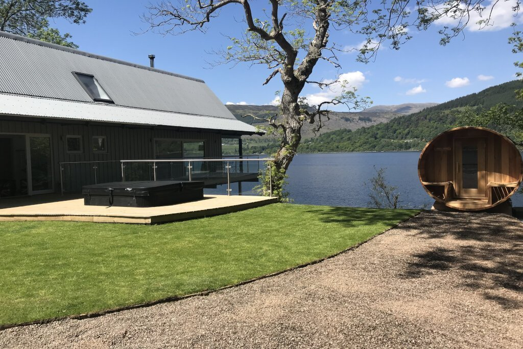 Boathouse Lodge at Loch Tay