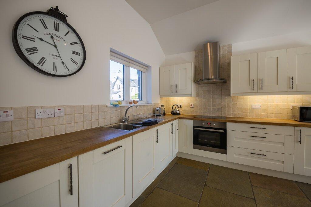 Glen Lochay Lodge Kitchen